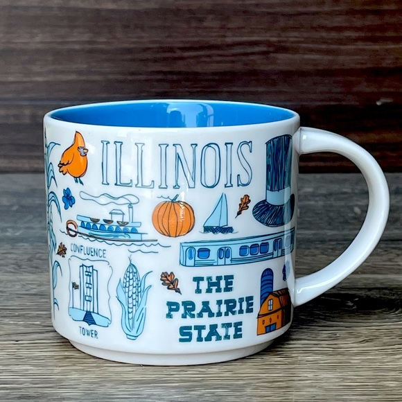Starbucks Illinois Been There Series Coffee Mug